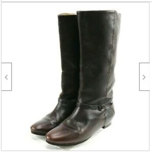 Frye Women's Knee High Tall Boots Size 7.5 Brown